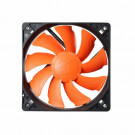 CASE FAN 120MM COUGAR TURBINE 120 60.4CFM 17.7DB ORANGE