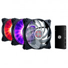 CASE FAN 120MM COOLER MASTER MASTERFAN PRO 120 RGB 3 IN 1 42.7CFM 20DB WITH CTLR