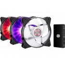 CASE FAN 120MM COOLER MASTER MASTERFAN PRO 120 AP RGB 3 IN 1 WITH CTRL