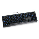 KEYBOARD IOGEAR KALIBER GAMING GKB710L-RD MECHLITE MECHANICAL GAMING KEYBOARD BLACK
