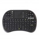 KEYBOARD W-SHARK WIRELESS MINI-KEYBOARD BLACK WITH TOUCH PAD