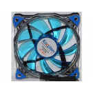 CASE FAN 120MM KOPPLEN SILENT BLUE 33 LED