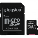 MICRO SD MEMORY CARD KINGSTON CANVAS SELECT 128GB SDXC C10 UHS-I SDCS/128GBCR