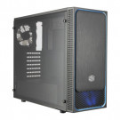 CASE ATX COOLER MASTER MASTERBOX E500L WINDOW BLACK/BLUE NOPS