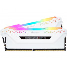 CORSAIR VENGEANCE RGB PRO 3200MHZ DDR4 16GB KIT CL16 WHITE CMW16GX4M2C3200C16W