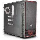 CASE ATX COOLER MASTER MASTERBOX E500L BLACK/RED