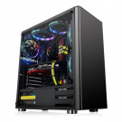 CASE ATX THERMALTAKE V200 TG BLACK WHITE LED CA-3K8-60M1WU-00