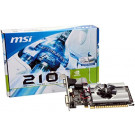 MSI PCIE GEFORCE N210 1GB DDR3 DVI/HDMI/VGA