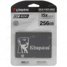 2.5 SATA3 256GB KINGSTON SSD KC600 SKC600/256G