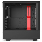 CASE ATX NZXT H510 TG BLACK/RED