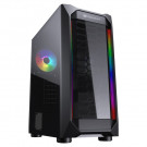 CASE ATX COUGAR MX410-T TG RGB BLACK