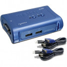 SWITCHBOX KVM 2PORT TRENDNET USB TK-207K