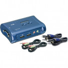 SWITCHBOX KVM 2PORT TRENDNET USB TK-209K