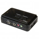 SWITCHBOX KVM 2PORT STARTECH USB SV211KUSB